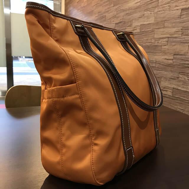 枚方店にてF.CLIO(エフクリオ)のバッグを買取_02