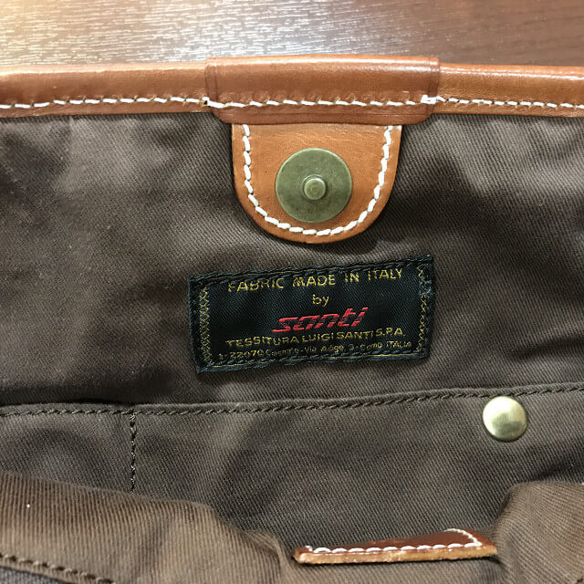 枚方店にてF.CLIO(エフクリオ)のバッグを買取_04
