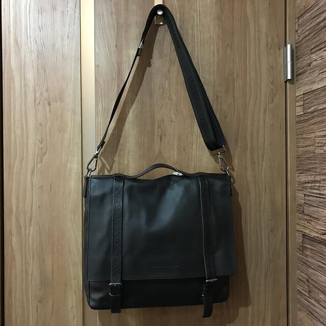 枚方店にてフェラガモの2wayバッグを買取_03
