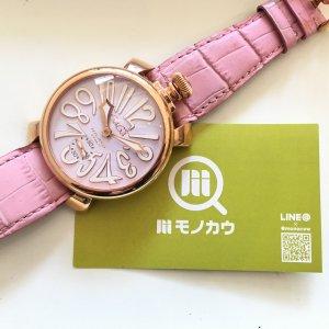 大阪梅田のお客様からガガミラノの腕時計【マヌアーレ】を買取