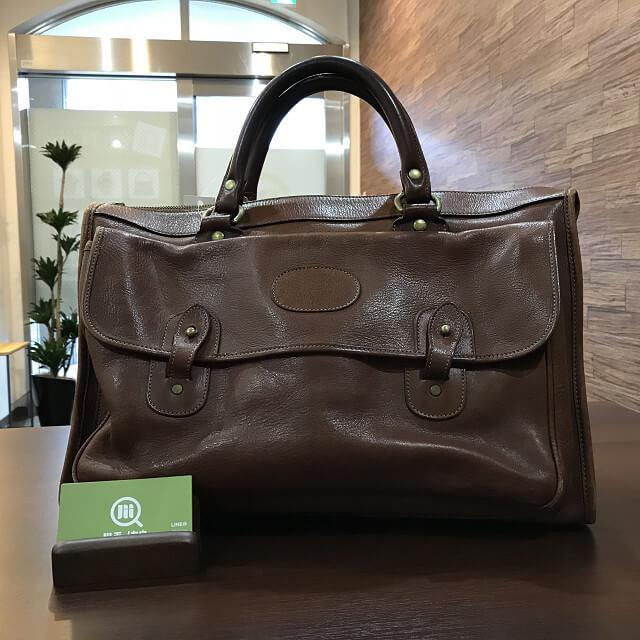 枚方店にてGHURKA(グルカ)のレザーバッグを買取_01