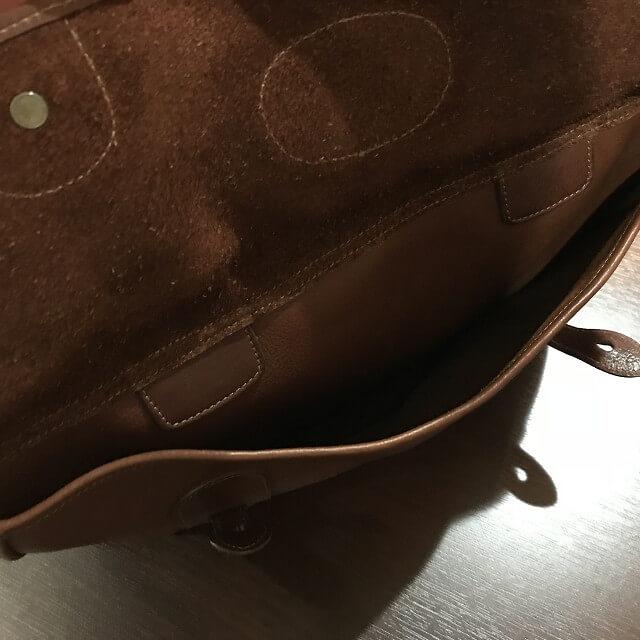 枚方店にてGHURKA(グルカ)のレザーバッグを買取_03