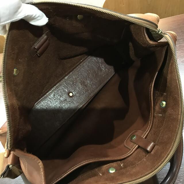 枚方店にてGHURKA(グルカ)のレザーバッグを買取_04
