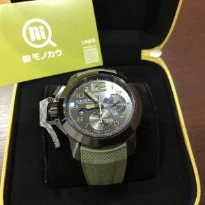 大阪市此花区のお客様からGRAHAM(グラハム)の腕時計【クロノファイター】を買取
