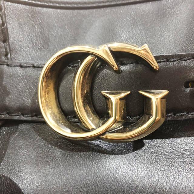 御徒町からグッチの【GGランニング】のハンドバッグを買取_02