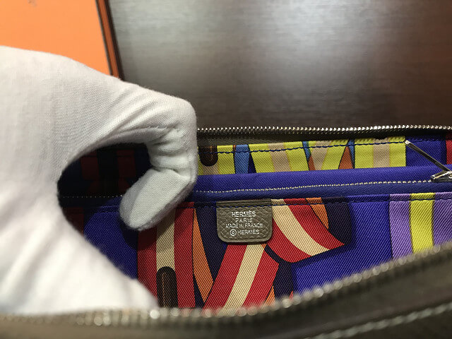 大阪のお客様からエルメスの長財布【アザップロング シルクイン】を買取_04