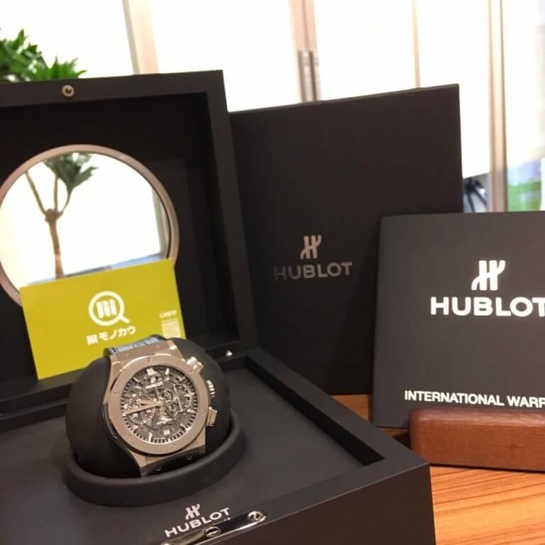 三重からウブロの腕時計【アエロフュージョン クロノグラフ】を買取_03