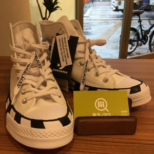 大阪でOff White × Converse Chuck Taylor All Star 70s Hiを買取