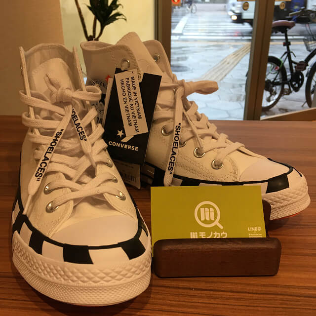 大阪でOff White × Converse Chuck Taylor All Star 70s Hiを買取_01
