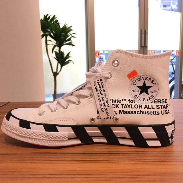 大阪でOff White × Converse Chuck Taylor All Star 70s Hiを買取_02