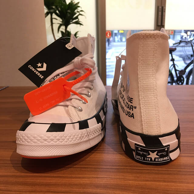 大阪でOff White × Converse Chuck Taylor All Star 70s Hiを買取_03