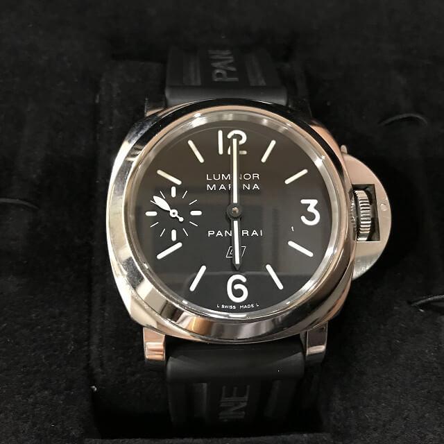 釧路からパネライの腕時計【ルミノール ベース】を買取_02