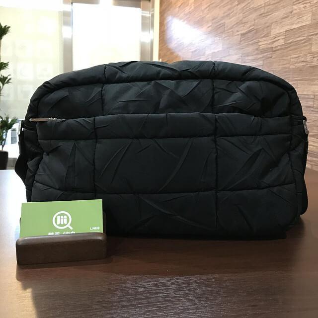 東大阪のお客様からプラダのナイロンショルダーバッグを買取_01