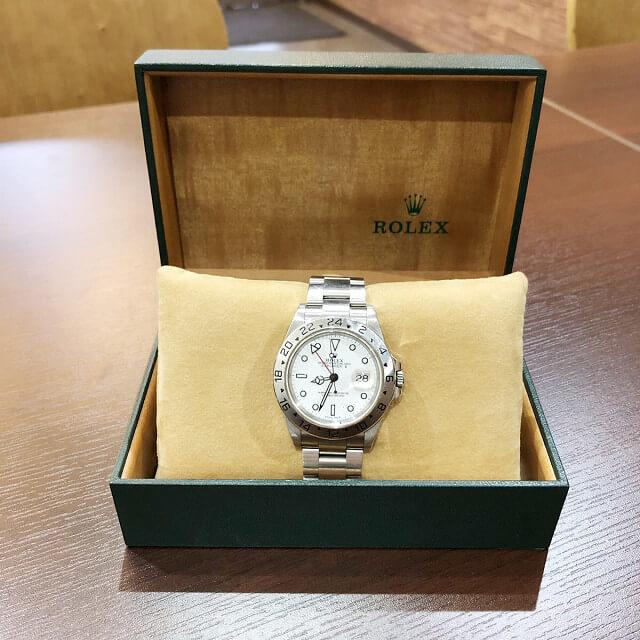 天王寺のお客様からロレックスの腕時計【エクスプローラー2】を買取_03