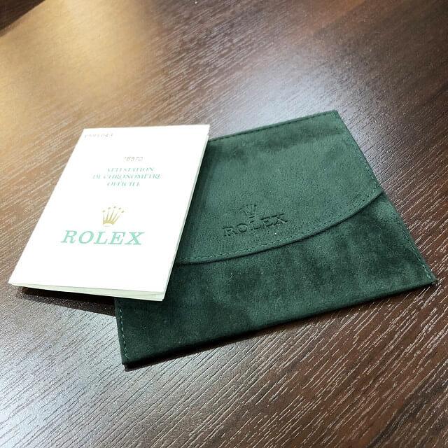 天王寺のお客様からロレックスの腕時計【エクスプローラー2】を買取_04