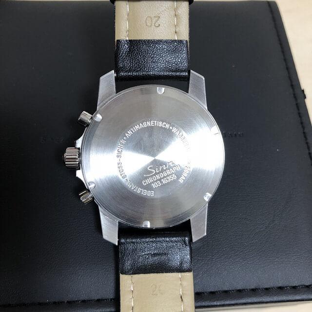 中目黒からSINN(ジン)のクロノグラフの腕時計を買取_04