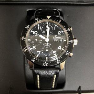 中目黒からSINN(ジン)のクロノグラフの腕時計を買取