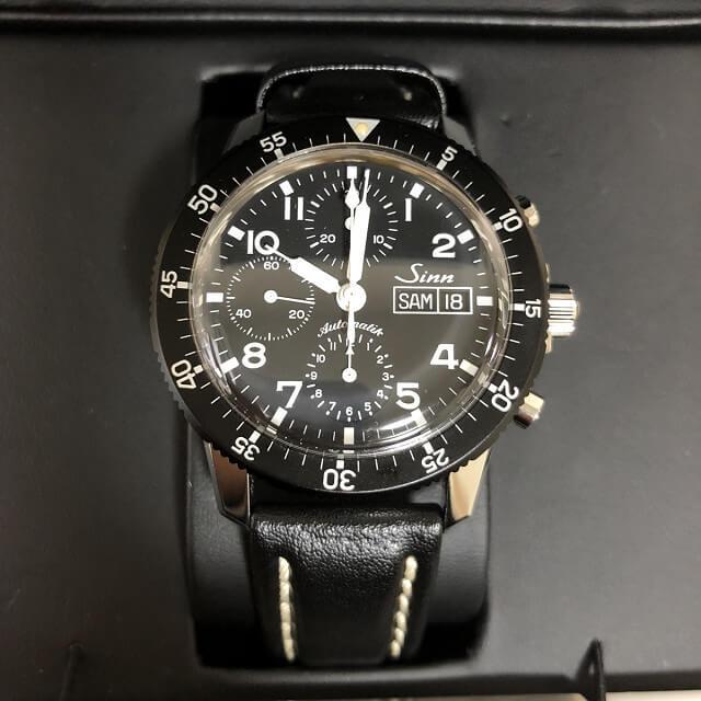 中目黒からSINN(ジン)のクロノグラフの腕時計を買取_01