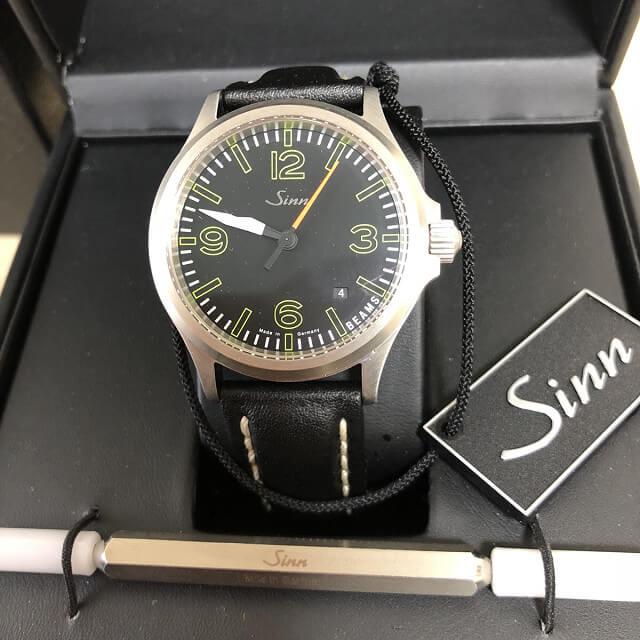 中目黒からSINN(ジン)のビームス別注モデルの腕時計を買取_01