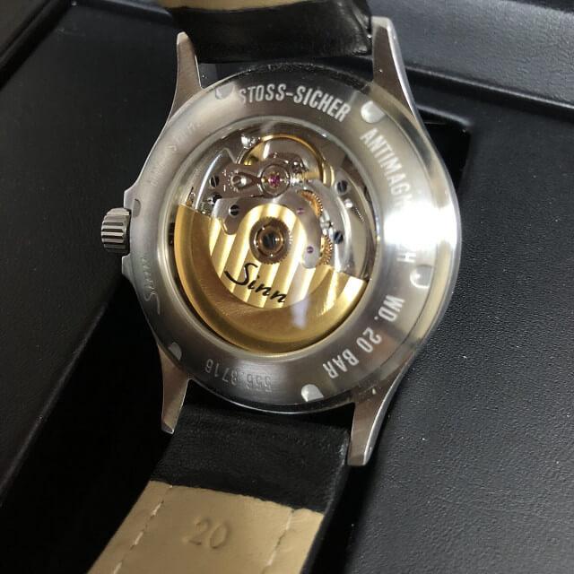 中目黒からSINN(ジン)のビームス別注モデルの腕時計を買取_02