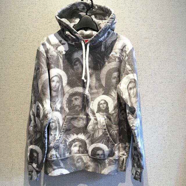 大阪でSupreme Jesus and Mary Hooded Sweatshirtを買取_01