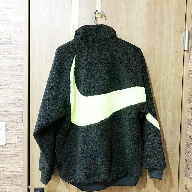 大阪でNIKE(ナイキ)の【ビッグ スウォッシュ ボア ジャケット】を買取_02
