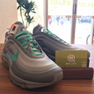 【スニーカー】大阪でNIKE × OFF-WHITE VIRGIL ABLOH THE 10 AIR MAX 97 OG を買取
