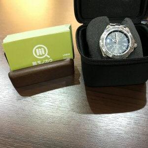 池田のお客様からブライトリングの腕時計【スーパーオーシャン】を買取