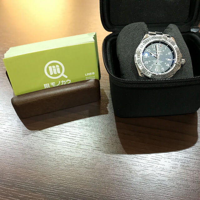 池田のお客様からブライトリングの腕時計【スーパーオーシャン】を買取_01