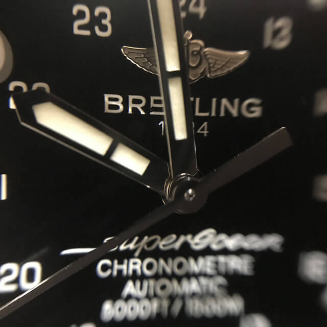 池田のお客様からブライトリングの腕時計【スーパーオーシャン】を買取_02