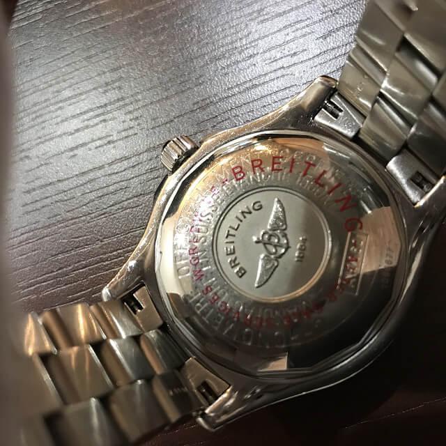 池田のお客様からブライトリングの腕時計【スーパーオーシャン】を買取_04