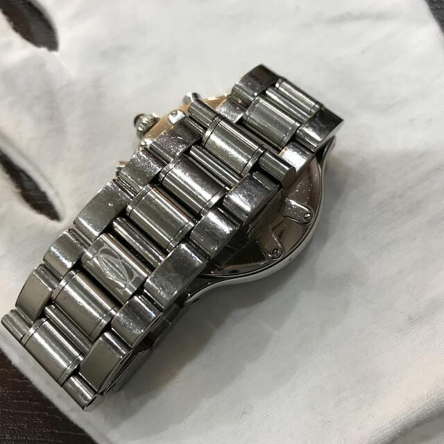 石橋のお客様からカルティエの腕時計【マスト21 クロノスカフ】を買取_04