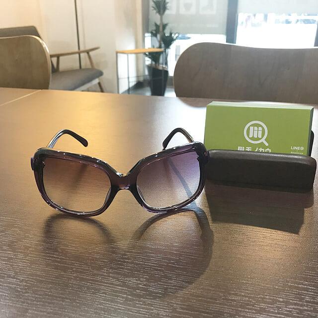 堀江のお客様からシャネルのサングラスを買取_01