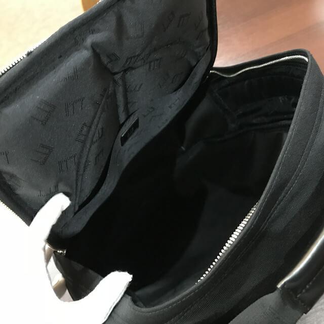 枚方店にてダンヒルのバッグを買取_04