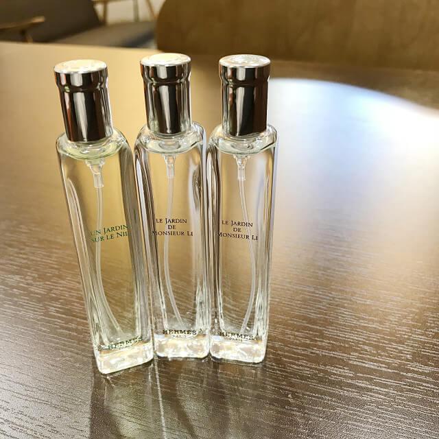 大和西大寺のお客様からエルメスの香水【李氏の庭】オードトワレを買取_02