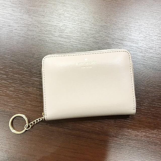 大和西大寺のお客様からケイトスペードの財布を買取_02