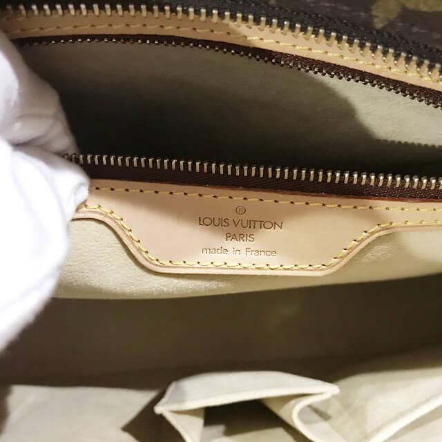 大阪でヴィトンのモノグラムのトートバッグ【ルコ】を買取_04