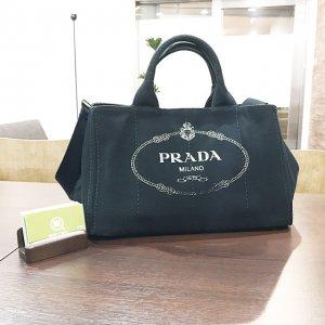 玉造店にてプラダのハンドバッグ【カナパ】を買取