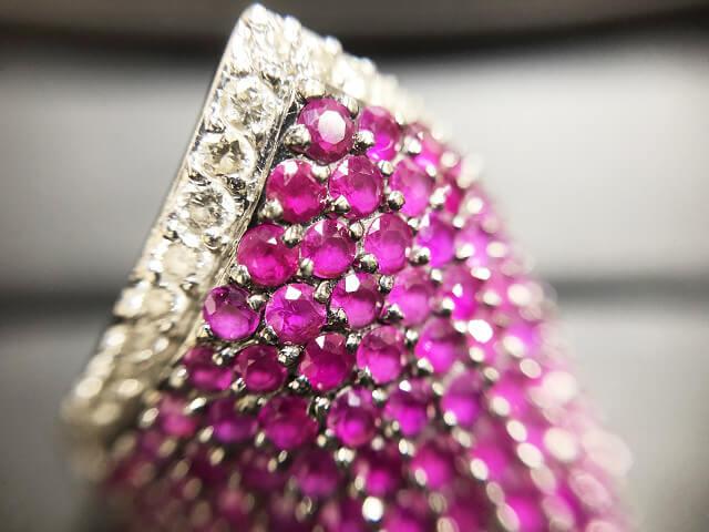 緑橋のお客様からルビー×ダイヤモンドの指輪を買取_02