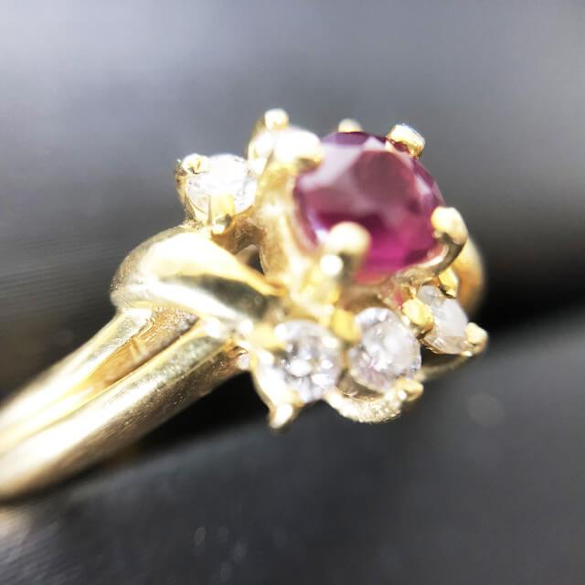 鴫野のお客様からルビー×ダイヤの指輪を買取_03