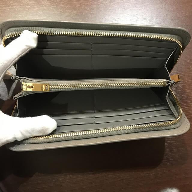 熊本からサンローランのラウンドファスナー長財布を買取_03