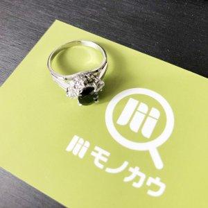 玉造のお客様からサファイア×ダイヤモンドの指輪を買取