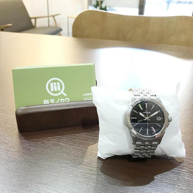 戸塚からセイコーの腕時計【クレドール】を買取_01