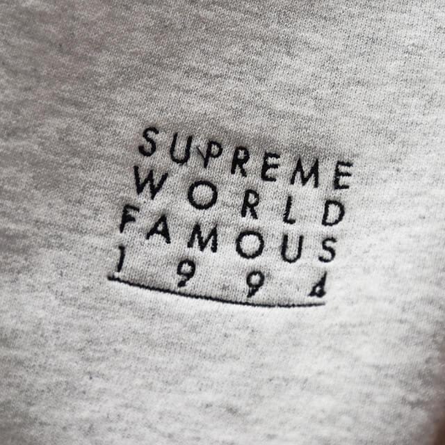堀江のお客様からSupreme(シュプリーム)のWorld Famous Zip Up Hooded Sweatshirtを買取_03