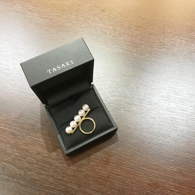 大阪でTASAKI(タサキ)の【バランス】パールリングを買取_03