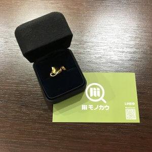 枚方店にてティファニーのK18金ハートリングを買取
