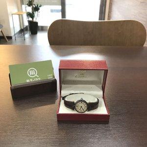 住吉のお客様からカルティエの腕時計【マストヴェルメイユ】を買取
