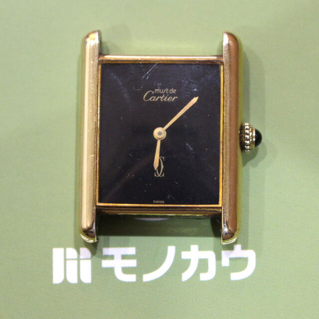 深江橋のお客様からカルティエの腕時計【マストタンク】を買取_01
