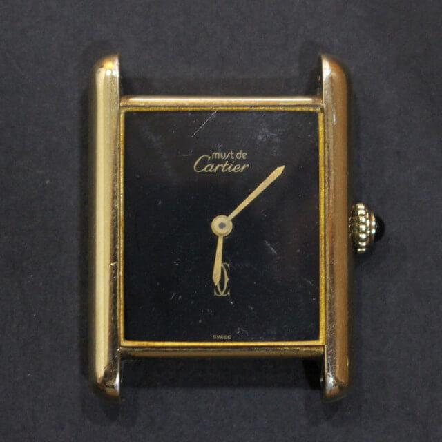 深江橋のお客様からカルティエの腕時計【マストタンク】を買取_02