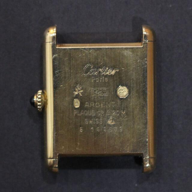 深江橋のお客様からカルティエの腕時計【マストタンク】を買取_03